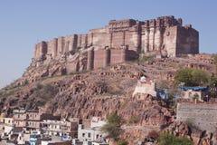 Доминантная индийская крепость стоковое фото
