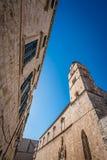 Доминиканская башня церков в Дубровнике Стоковое Изображение RF