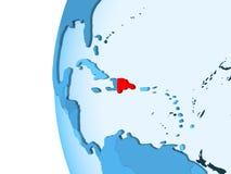 доминиканская республика карты иллюстрация вектора