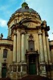 Доминиканская церковь, священник и попрошайка Стоковое фото RF