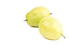 доминиканские guavas изолировали белизну 2 Стоковые Фото