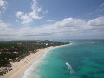Карибский пляж стоковая фотография rf