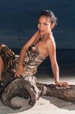 Доминиканский портрет девушки стоковые изображения rf