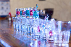 Домино коктеила стоковое изображение