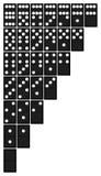 домино Стоковая Фотография RF