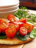 домодельная пицца Стоковые Фотографии RF