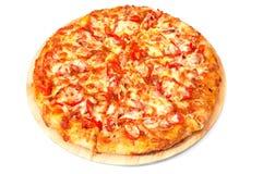 Домодельная пицца Стоковое Изображение RF
