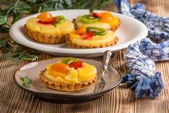 Домодельная яичница завтрака с томатом Стоковое Изображение RF