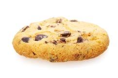 Домодельное печенье с обломоками шоколада Стоковое Фото