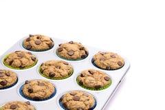 Домодельные булочки обломока шоколада Стоковая Фотография RF