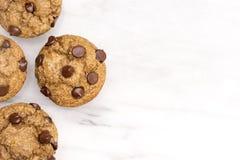 Домодельные булочки обломока шоколада Стоковое Изображение