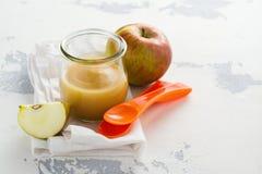 Домодельные овощ младенца и пюре плодоовощ Стоковые Фотографии RF
