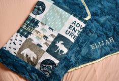 Домодельные одеяла стоковые изображения