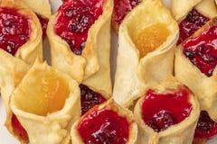 Домодельные печенья с вареньем Большой клан Стоковое Изображение RF