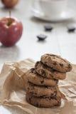 Домодельные печенья шоколада Стоковое Фото