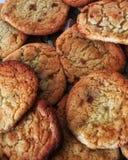 Домодельные посоленные печенья Butterscotch карамельки стоковые изображения rf