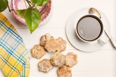 домодельные scones Стоковые Изображения