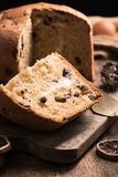 Домодельный кулич итальянка рождества торта Стоковая Фотография RF