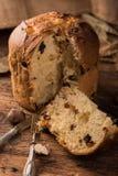 Домодельный кулич итальянка рождества торта Стоковая Фотография
