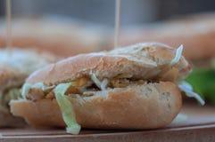 Домодельный сандвич breadstcick Стоковое Фото