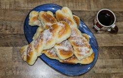 Домодельный сладостный хлеб стоковые фото