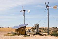 домодельный солнечный ветер Стоковое Изображение RF