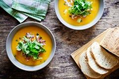 домодельный суп картошки Стоковые Фото