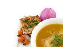 домодельный суп Стоковое Изображение