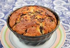 Домодельный торт с шоколадом Стоковое Фото