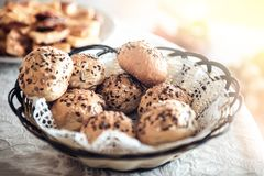 Домодельный хлеб для завтрака Стоковые Изображения RF