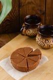 Домодельный fudge шоколада с вкусом банана Стоковая Фотография RF