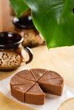 Домодельный fudge шоколада с вкусом банана Стоковые Изображения RF