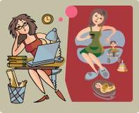 домоец карьеры бесплатная иллюстрация