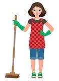 Домохозяйка маленькой девочки Стоковое фото RF