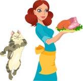 домохозяйка бесплатная иллюстрация