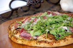 Домодельная пицца Стоковые Изображения RF