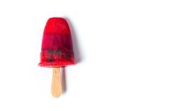 Домодельное изолированное мороженое popsicles плодоовощ Стоковые Фотографии RF