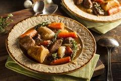 Домодельное ирландское тушёное мясо говядины Стоковое Изображение RF