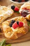 Домодельное печенье Danish лакомки Стоковое Изображение