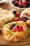 Домодельное печенье Danish лакомки Стоковые Фото