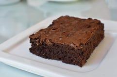 Домодельное пирожное шоколада Стоковые Фотографии RF