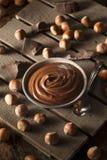 Домодельное распространение фундука шоколада Стоковые Изображения