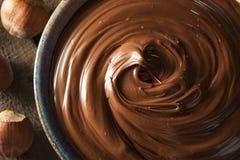Домодельное распространение фундука шоколада Стоковые Фотографии RF