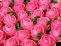 Домодельное розовое очарование, традиционный тайский десерт Стоковые Фотографии RF