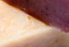 Домодельное фото макроса мыла Стоковая Фотография