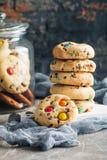 Домодельной печенья покрытые конфетой Стоковое Фото