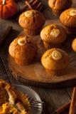 Домодельные булочки специи тыквы Стоковое Изображение RF