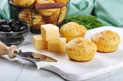 Домодельные булочки сыра Стоковые Изображения RF