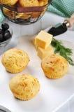 Домодельные булочки сыра Стоковые Изображения