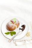 Домодельные итальянские печенья персика Стоковое Изображение RF